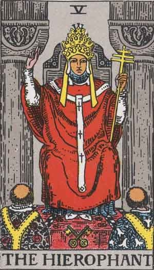 Hierophant: Tarot Card Meaning, Combination with Other Cards