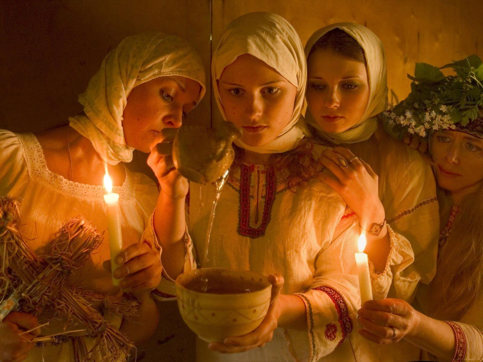 Святочные обряды
