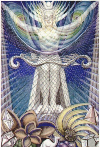 What is the meaning of the Tarot card High Priestess, as it is combined with other cards