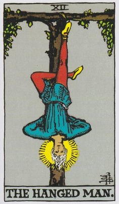 What does the Tarot Card Hanged means, how it is combined with other cards