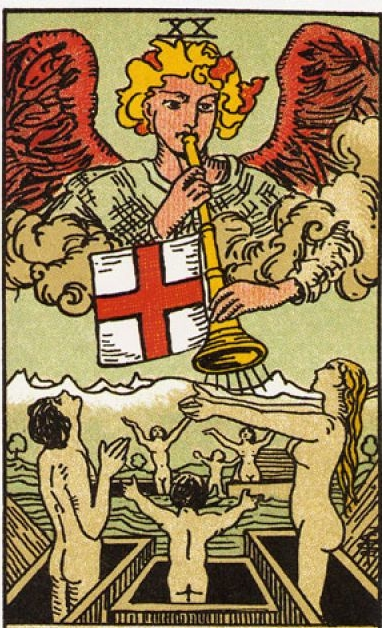 What does the Tarot Card mean, its combination with other lasso