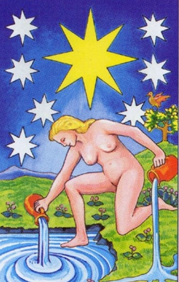 What does the Tarot Star card mean, how does it combine with other lasso