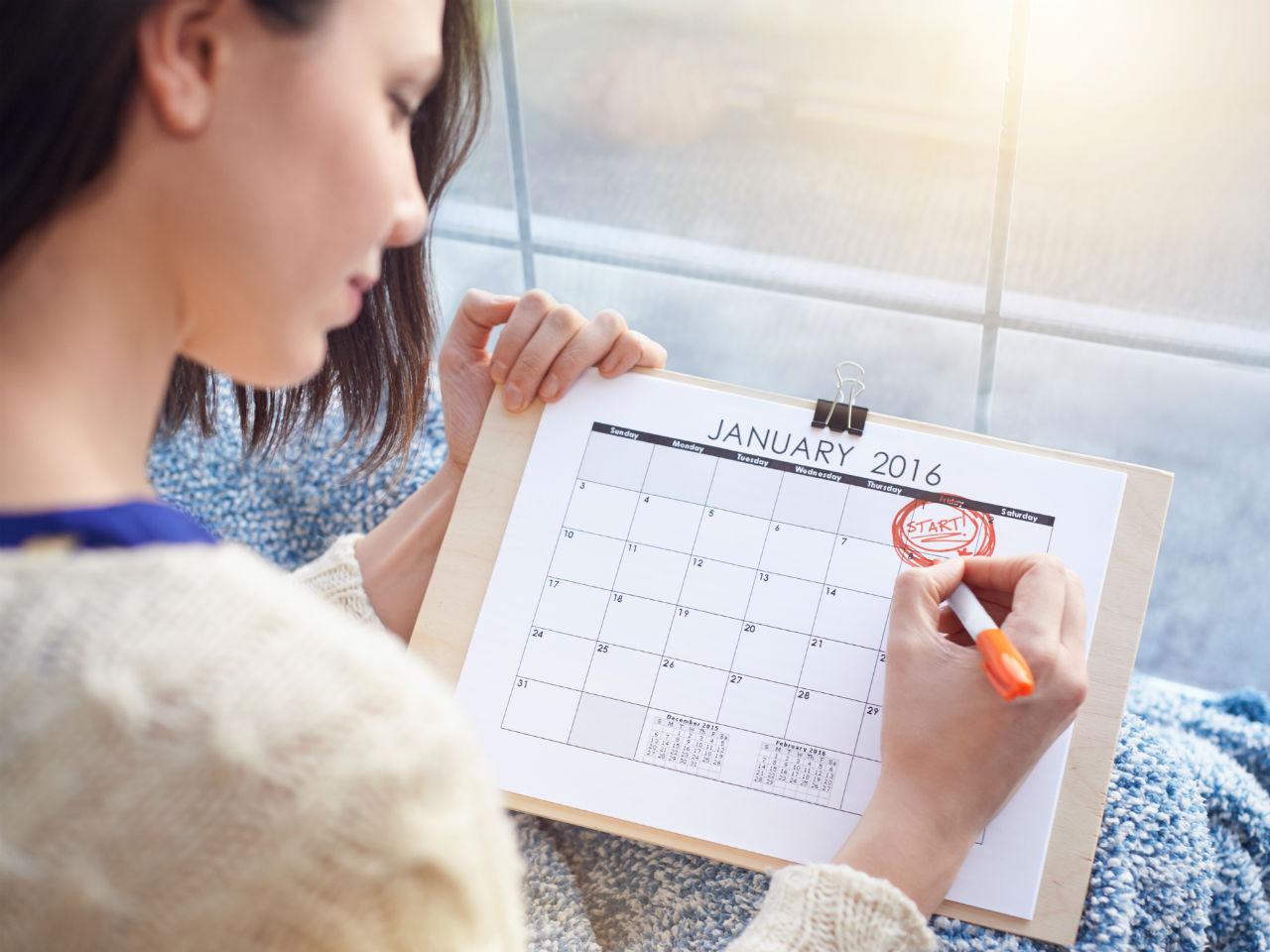 Народные приметы и гадание по месячным в Новый год по числам и дням недели