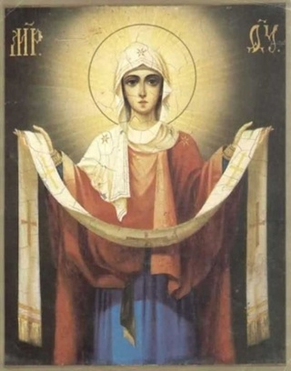 Signs and ceremonies on the Protection of the Blessed Virgin Mary, history of the holiday