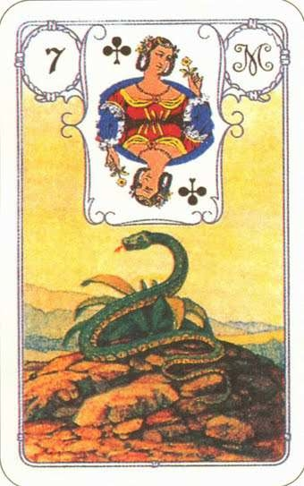 The most accurate fortune telling on 4 Lenormand maps for the near future: the meaning of layouts.